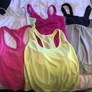 Workout tanks- Athletic tops